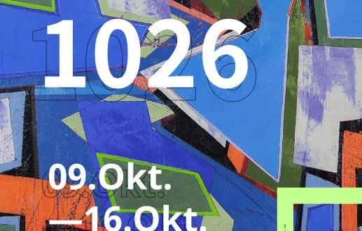 RAL 1026 Ausstellung groupshow